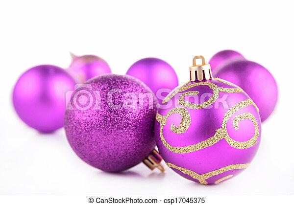 christmas bauble - csp17045375
