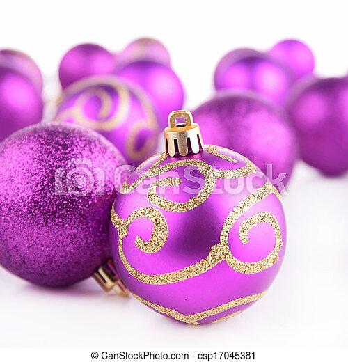 christmas bauble - csp17045381