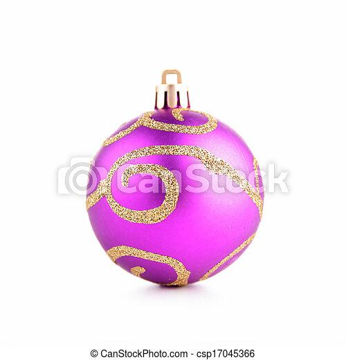 christmas bauble - csp17045366