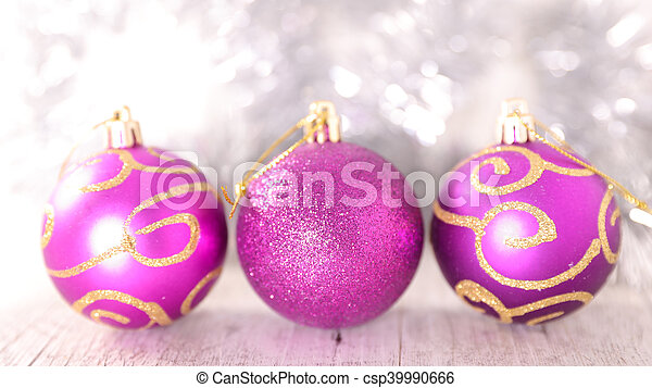 christmas bauble - csp39990666