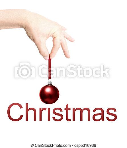 Christmas bauble - csp5318986