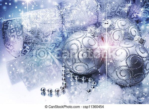 Christmas bauble - csp11360454