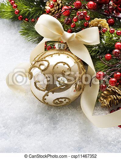 Christmas Bauble - csp11467352