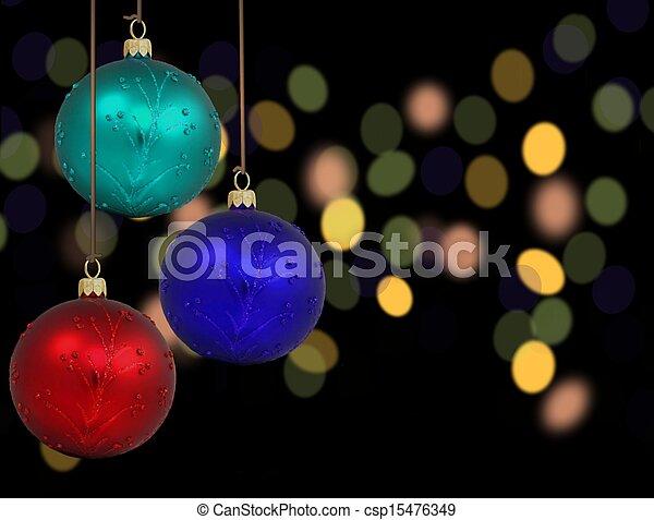 Christmas Bauble - csp15476349