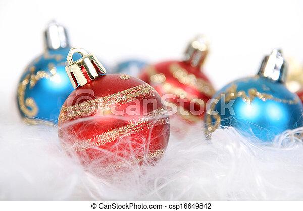 christmas bauble - csp16649842