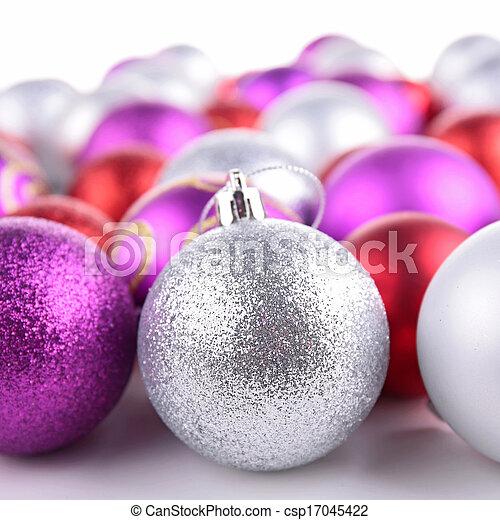 christmas bauble - csp17045422
