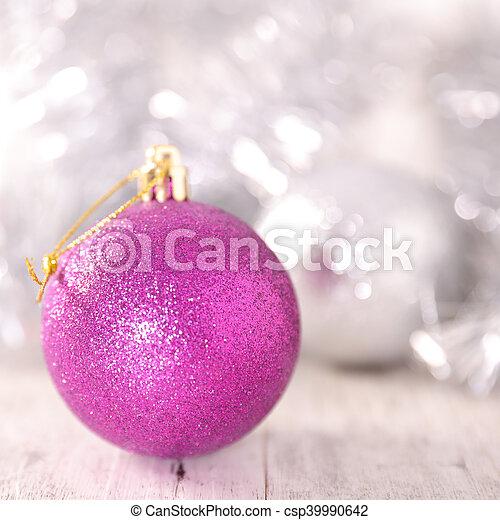 christmas bauble - csp39990642