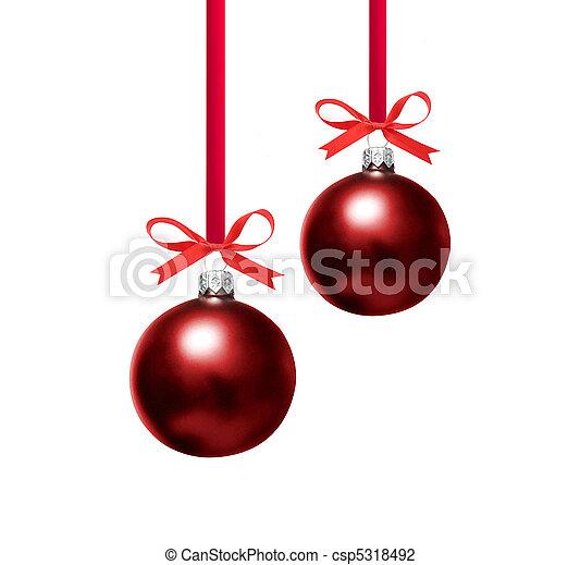 Christmas bauble - csp5318492