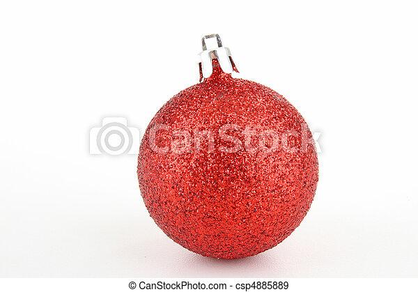 christmas bauble - csp4885889