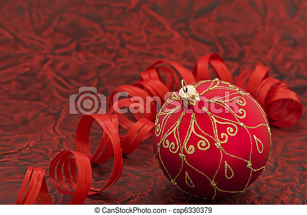Christmas Bauble - csp6330379