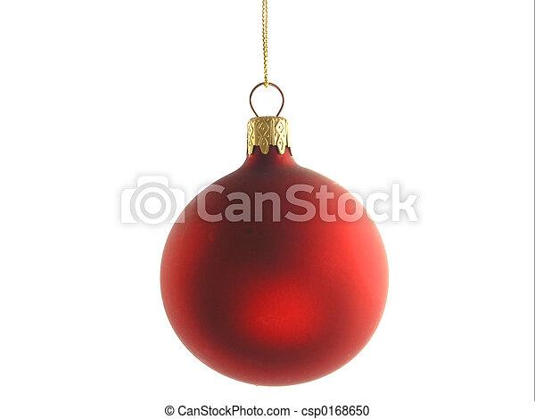 Christmas Bauble - csp0168650