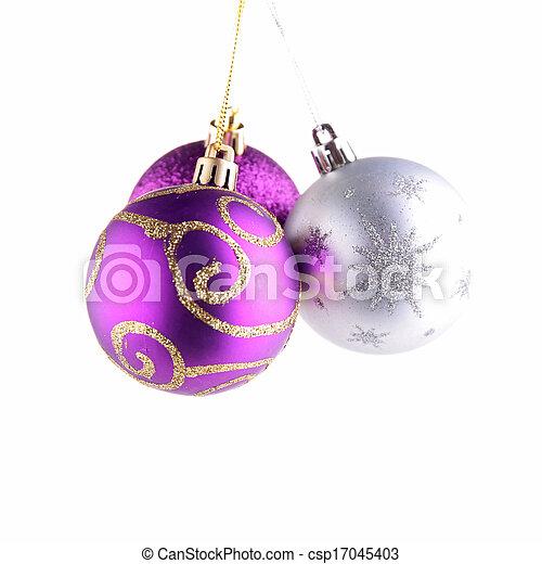 christmas bauble - csp17045403
