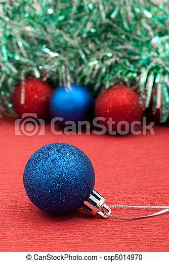 Christmas bauble - csp5014970