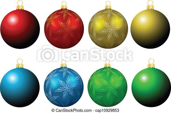 Christmas baubles - csp10929853