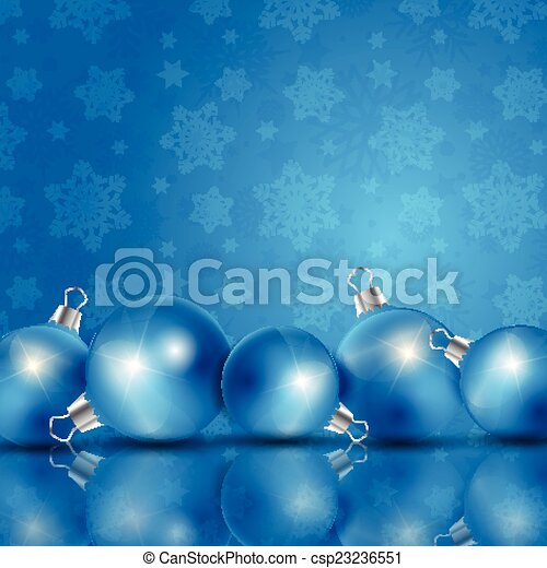 Christmas baubles - csp23236551