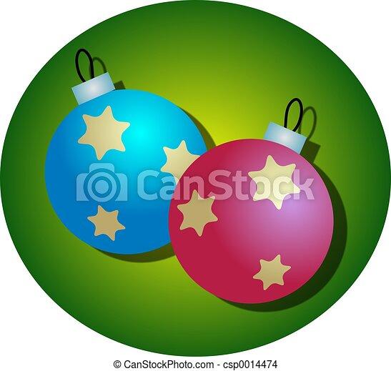 Christmas Baubles - csp0014474