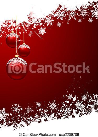 christmas baubles - csp2209709