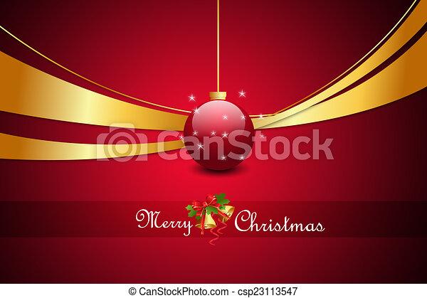 Christmas baubles - csp23113547