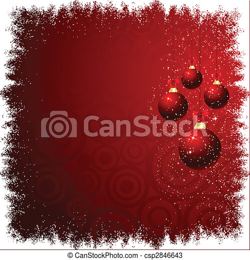 christmas baubles - csp2846643