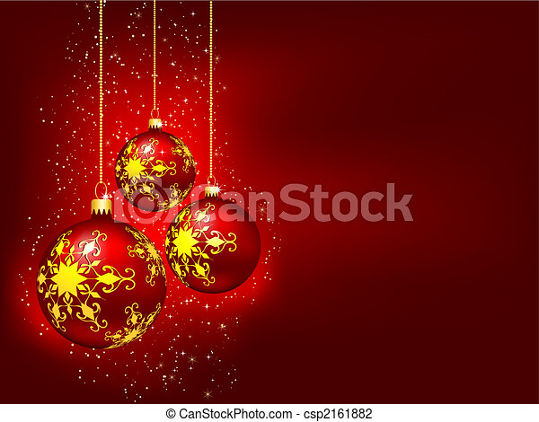 Christmas baubles - csp2161882