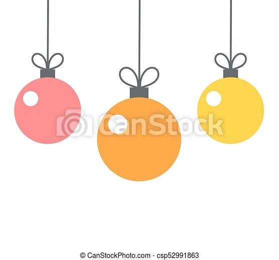 Christmas Baubles Ornaments