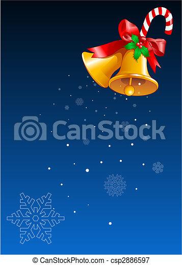 Christmas bells Design - csp2886597