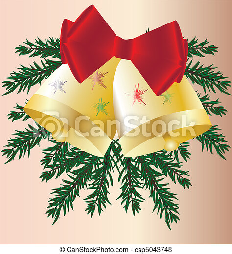 Christmas bells - csp5043748