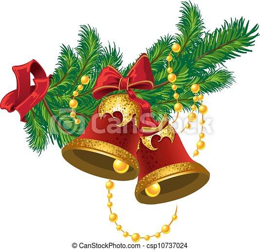 Christmas bells - csp10737024