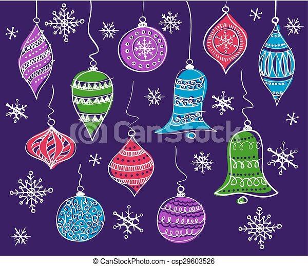 Christmas bells - csp29603526