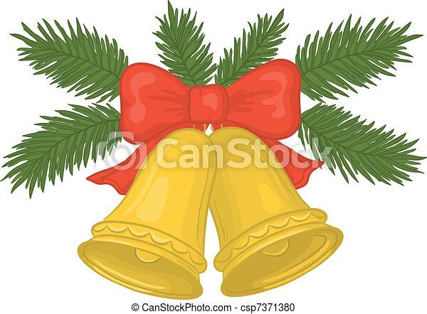 Christmas bells - csp7371380