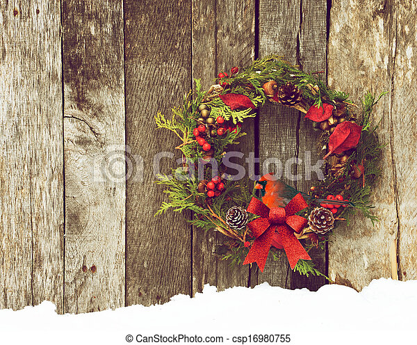 Christmas bird. - csp16980755