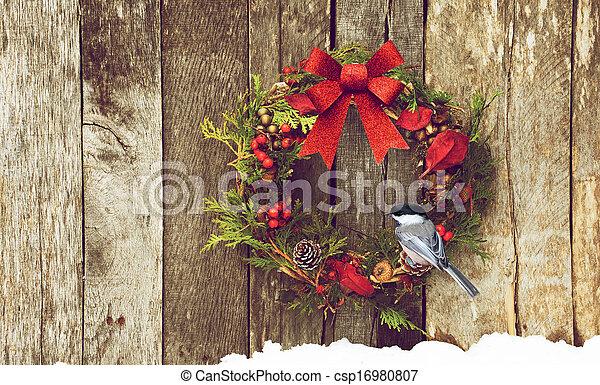 Christmas bird. - csp16980807