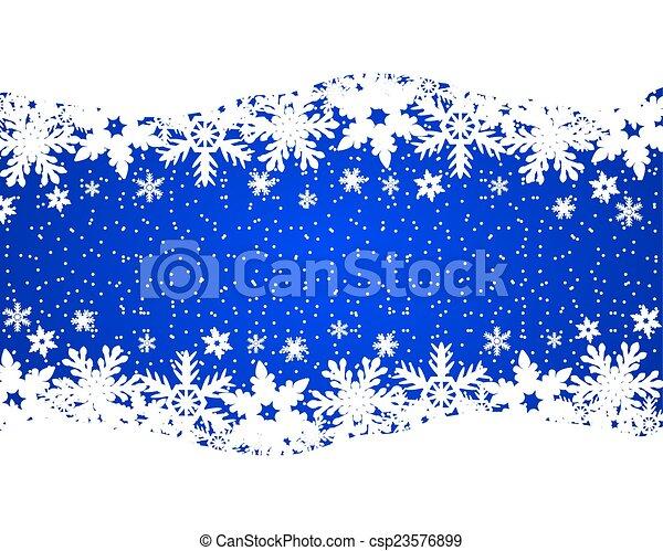 Christmas blue background - csp23576899