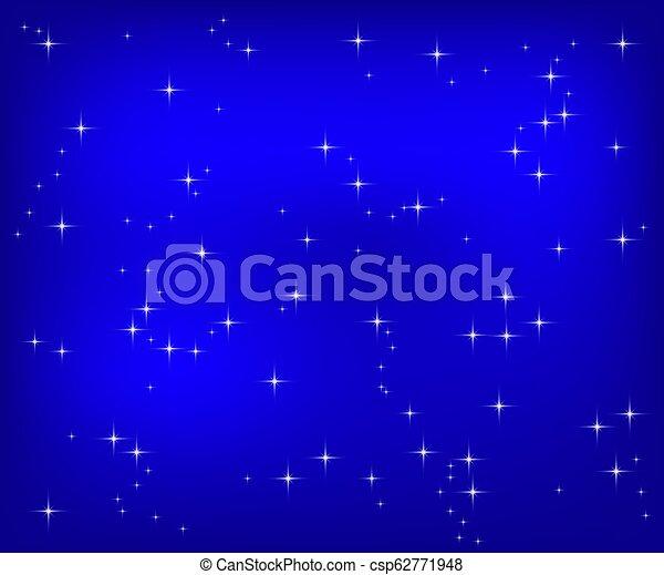Christmas blue background - csp62771948