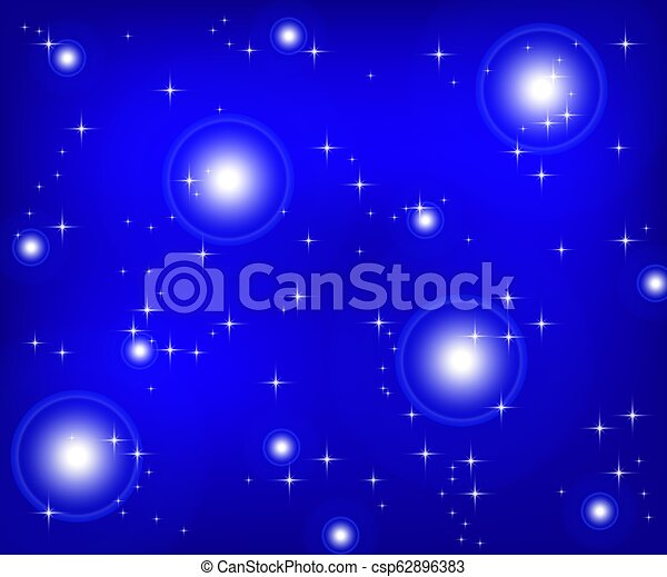 Christmas blue background - csp62896383