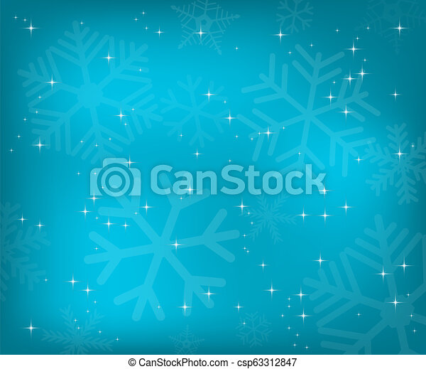 Christmas blue background - csp63312847