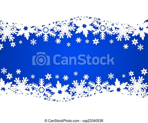 Christmas blue background - csp23340538