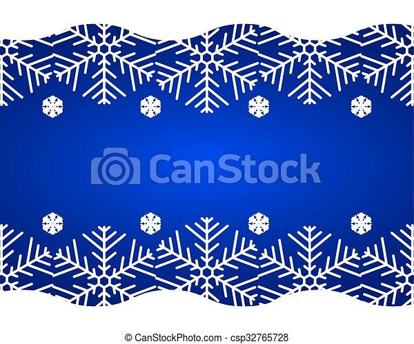 Christmas blue background - csp32765728