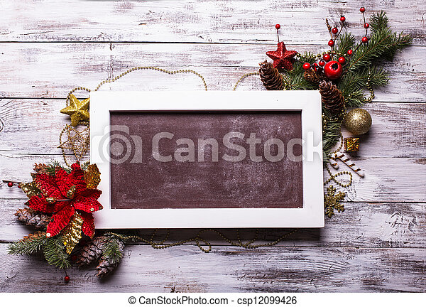 Christmas board - csp12099426
