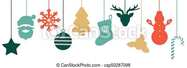 Christmas Border - csp50287098