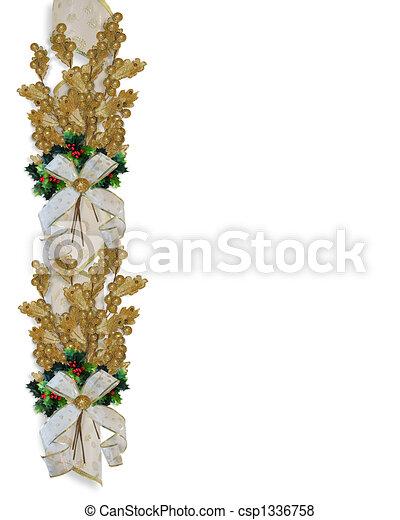 christmas border gold leaves christmas design gold leaves holly