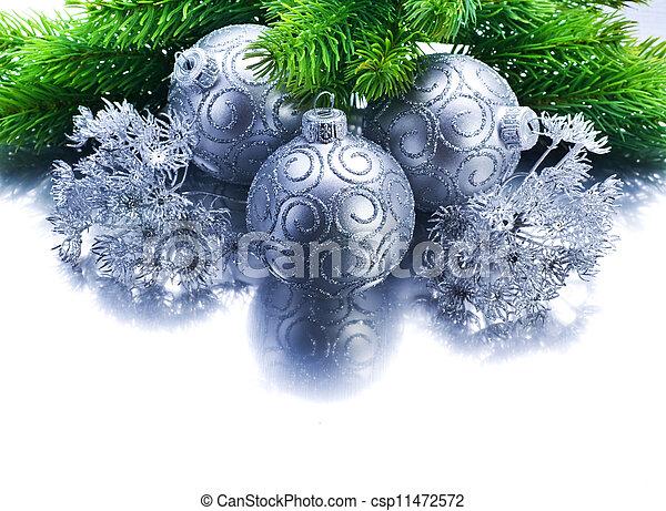 Christmas Border - csp11472572