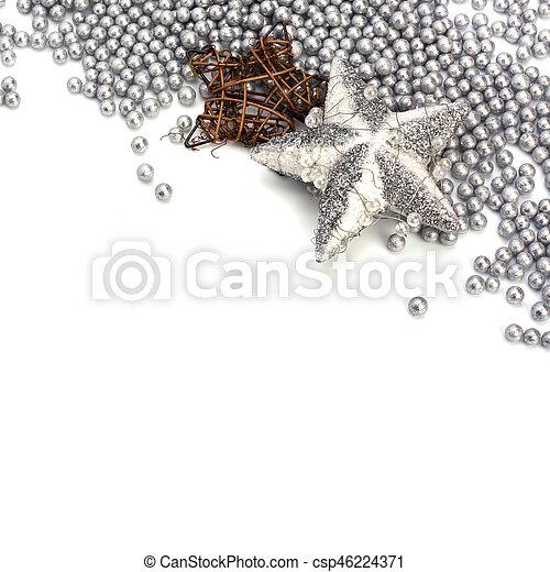 Christmas border. - csp46224371
