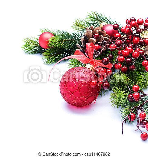 Christmas border - csp11467982