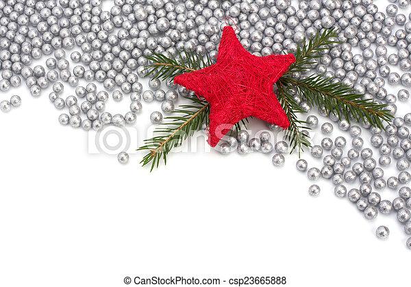 Christmas border. - csp23665888