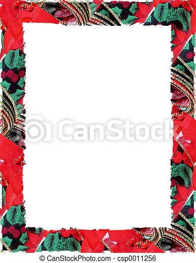 Christmas Border - csp0011256