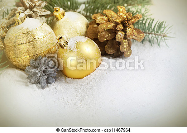 Christmas Border - csp11467964