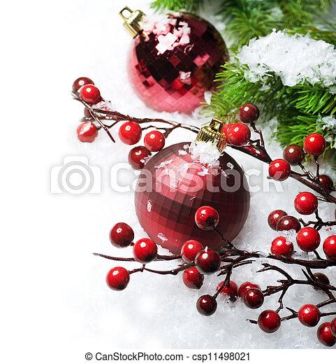 Christmas border - csp11498021