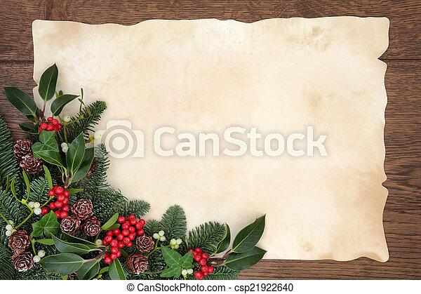Christmas Border - csp21922640