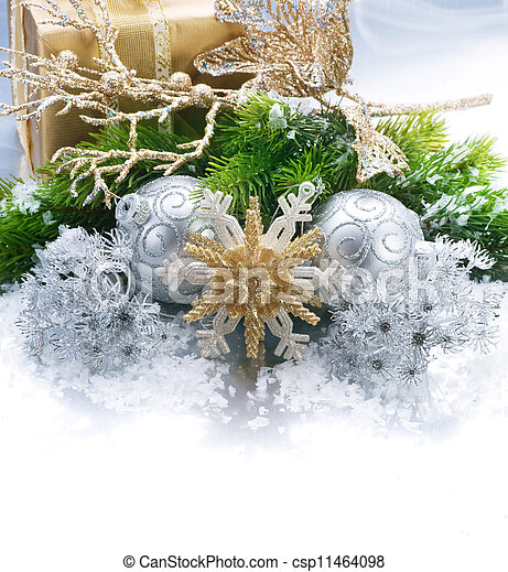 Christmas Border - csp11464098